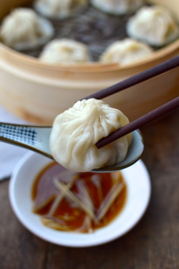 Steamed Shanghai Soup Dumplings (Xiaolongbao) - The Woks of Life