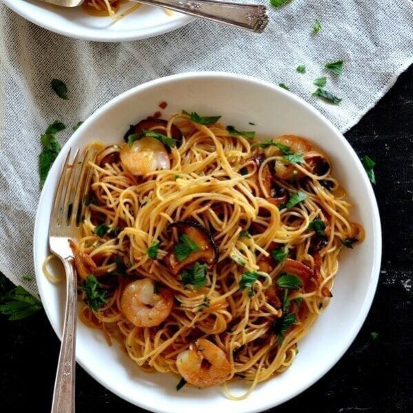 Soy Sauce Butter Pasta