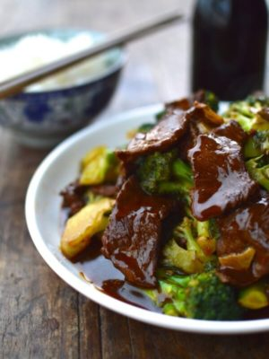 Beef and Broccoli with Purpose Stir-fry Sauce, by thewoksoflife.com