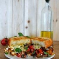 Ratatouille Grilled Cheese