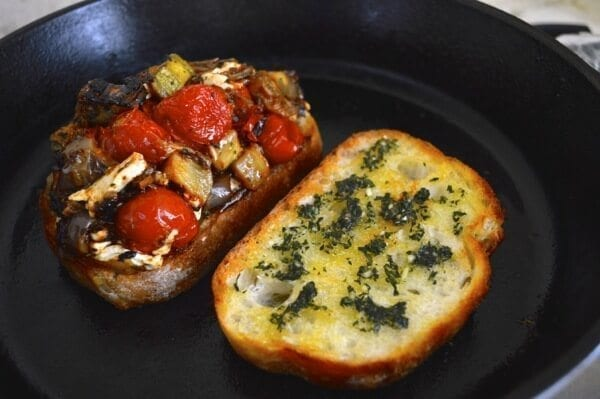 Ratatouille Grilled Cheese by thewoksoflife.com