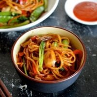 Vegetable Lo Mein, by thewoksoflife.com