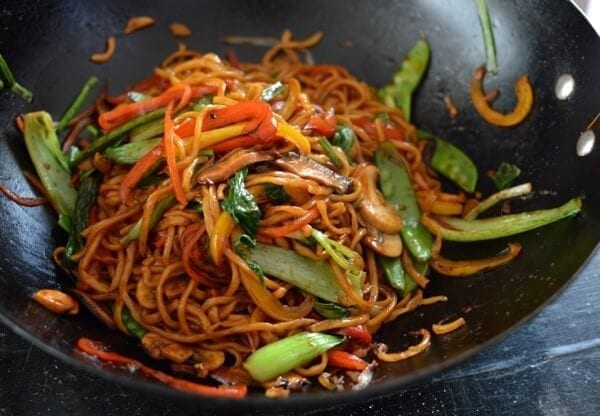 Vegetable Lo Mein - The Woks of Life
