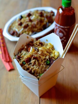 Classic Pork Fried Rice, by thewoksoflife.com
