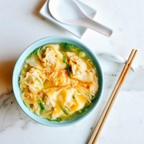 Cantonese Wonton Noodle Soup