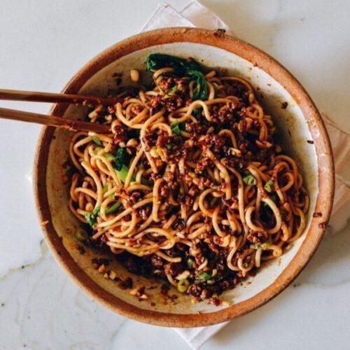 Dan Dan Noodles Authentic Sichuan Recipe The Woks Of Life