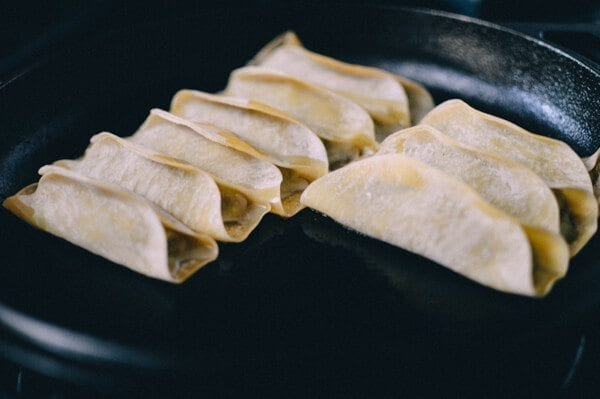 Easiest Pork and Cabbage Potstickers Recipe Ever by thewoksoflife.com