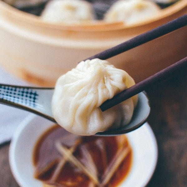Shanghai Soup Dumplings - Shanghai Cuisine, by thewoksoflife.com
