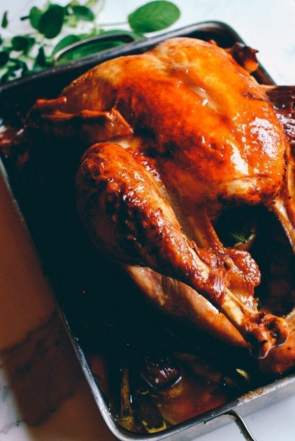 Grandpa's Perfect Thanksgiving Turkey Recipe, by thewoksoflife.com