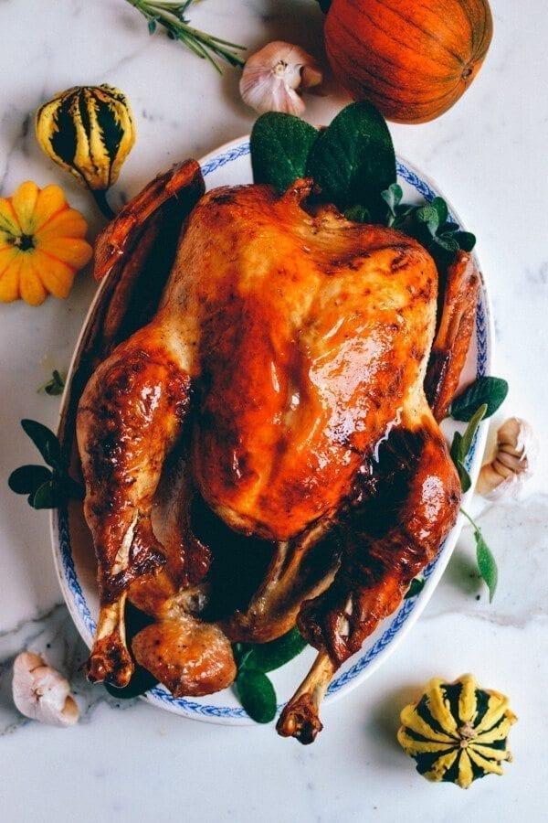 Grandpa's Thanksgiving Turkey, by thewoksoflife.com