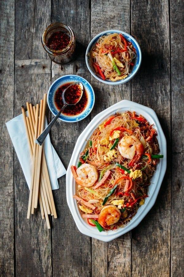 Xiamen Chow Mei Fun Noodles, by thewoksoflife.com