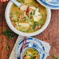 Easy Fish Tofu Soup, by thewoksoflife.com