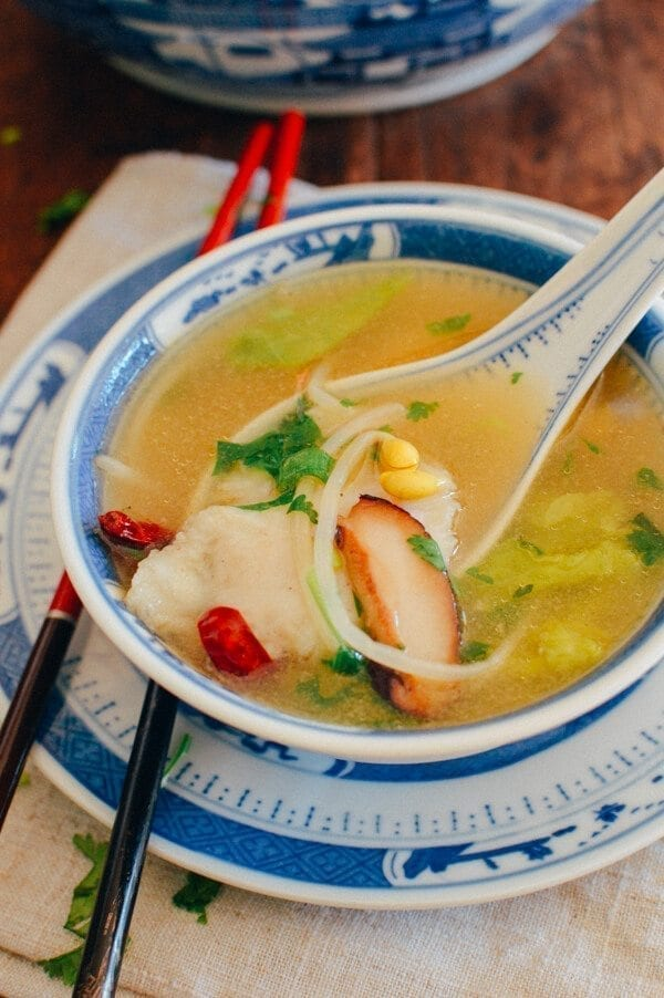 Easy Fish Tofu Soup, by thewoksoflife.com