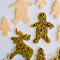 Matcha Bacon Sugar Cookies, by thewoksoflife.com