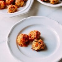 Sausage Balls 2 Ways, by thewoksoflife.com
