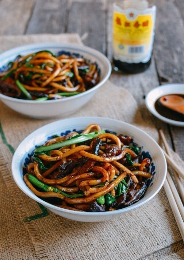 Shanghai Fried Noodles, by thewoksoflife.com