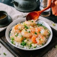 Shrimp with Lobster Sauce, by thewoksoflife.com