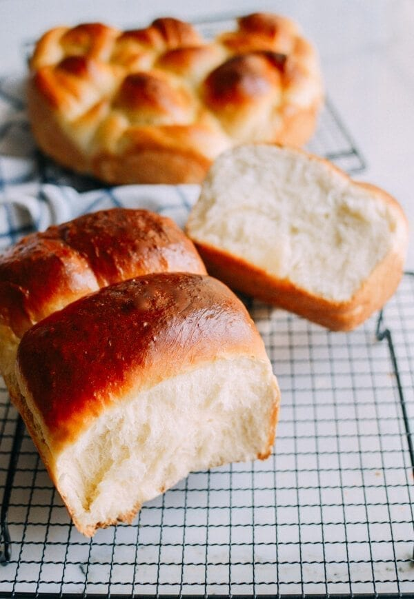 Milk Bread, by thewoksoflife.com