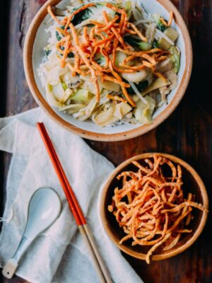 Chicken Chow Mein, by thewoksoflife.com