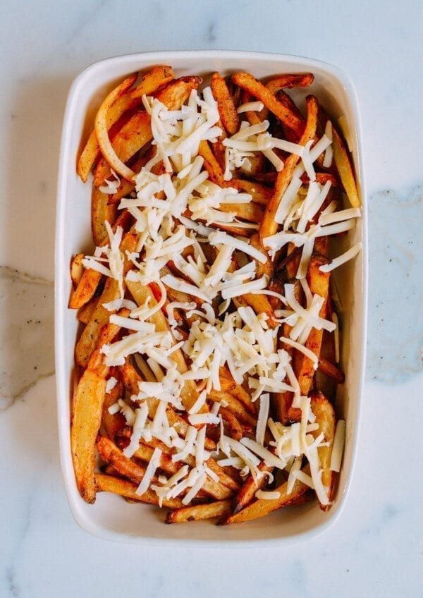 Kimchi Fries, by thewoksoflife.com