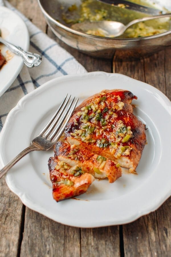 Soy Glazed Chicken Breast with Scallion Ginger Oil - The ...