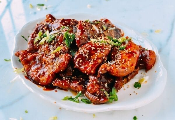 Sweet and Sour Pork Chops, by thewoksoflife.com