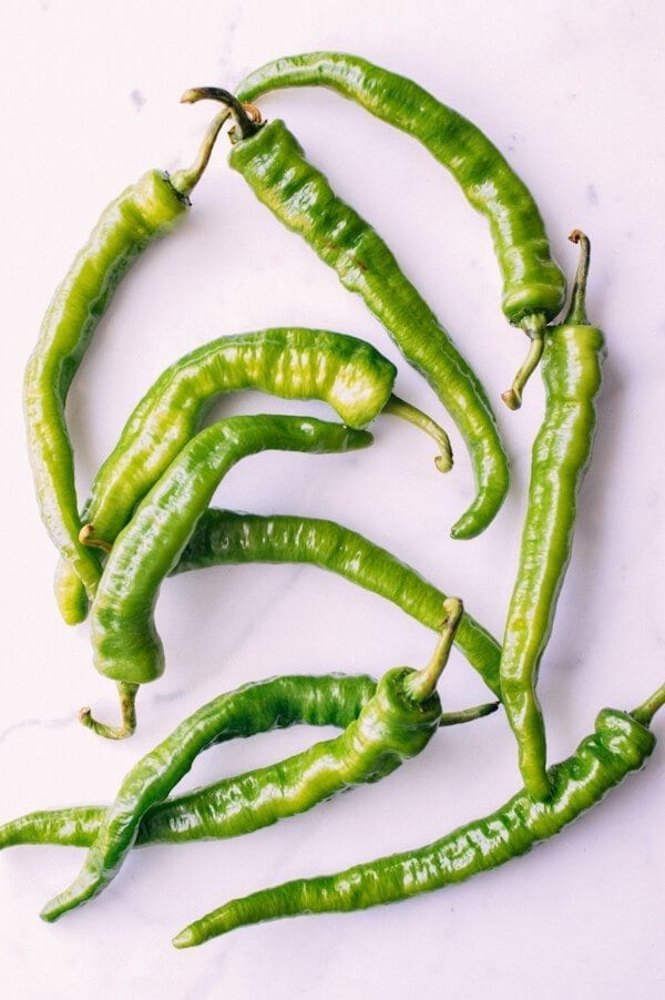 Tiger Skin Peppers, by thewoksoflife.com