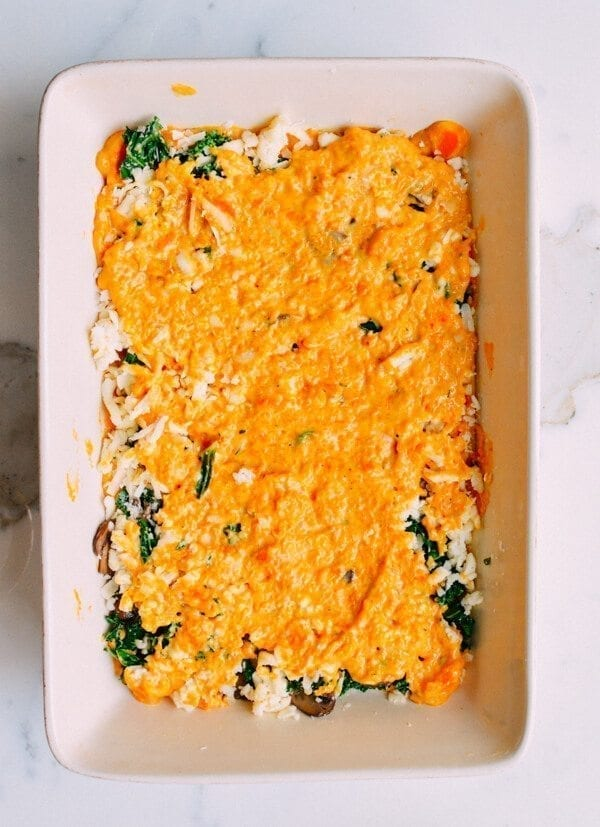 Butternut Squash Lasagna, by thewoksoflife.com