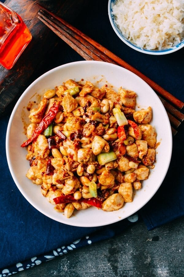 Kung Pao Chicken Recipe - Chinese Restaurant Quality, by thewoksoflife.com