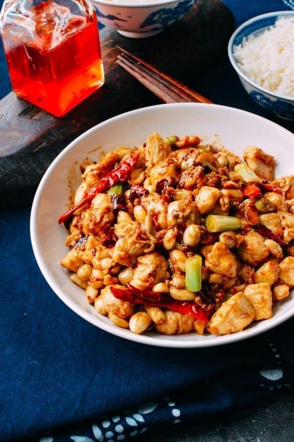 Kung Pao Chicken Recipe Chinese Restaurant Quality The Woks Of Life