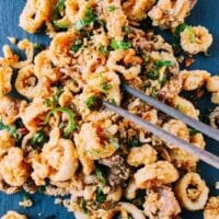 Salt and Pepper Squid, by thewoksoflife.com
