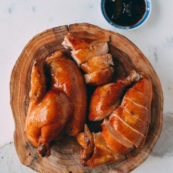Chinese soy sauce chicken