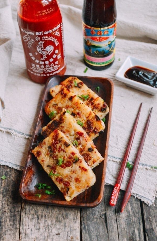 Turnip Cake Chinese Lo Bak Go The Woks Of Life