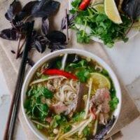Pho (Vietnamese Noodle Soup)