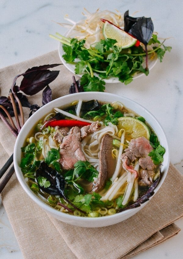 Authentic Pho Recipe, by thewoksoflife.com
