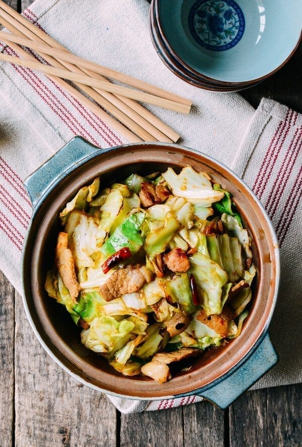Cabbage Stir-Fry, by thewoksoflife.com