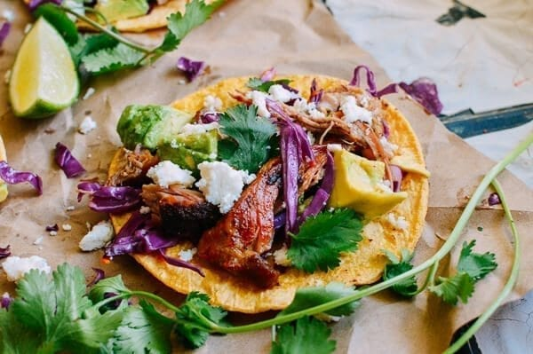 Carnitas Tacos, by thewoksoflife.com
