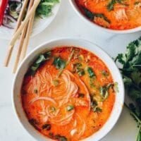 15-Minute Coconut Curry Noodle Soup