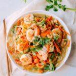 Glass noodles with shrimp