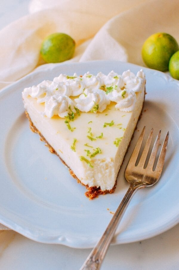 Key Lime Tart, by thewoksoflife.com