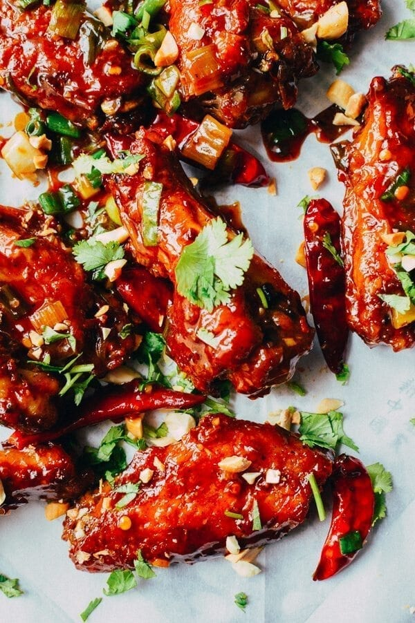Kung Pao Chicken Wings Recipe The Woks Of Life