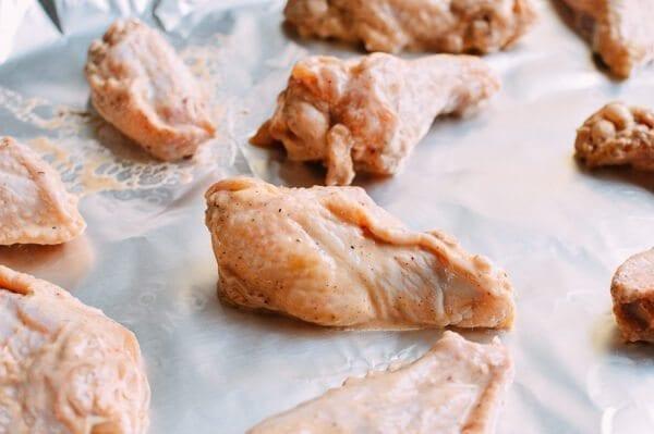 Kung Pao Chicken Wings, by thewoksoflife.com