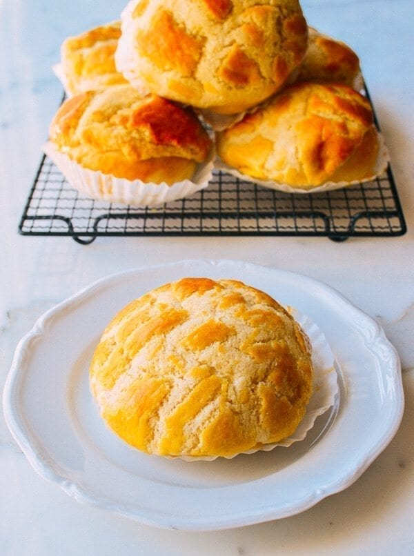 Pineapple Buns, by thewoksoflife.com