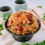 Sticky Rice Chinese Sausage