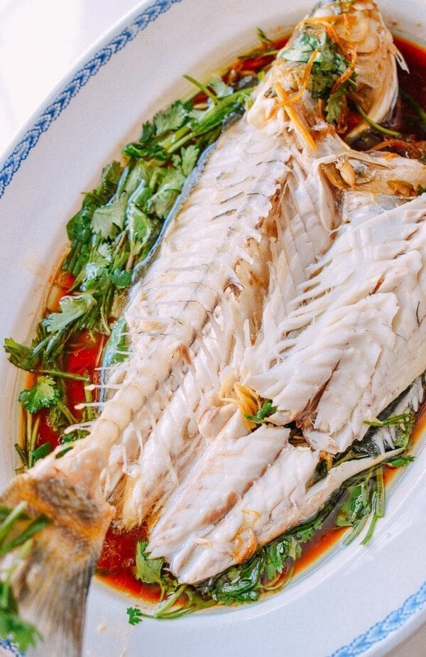 steamed whole fish chinese style the woks of life
