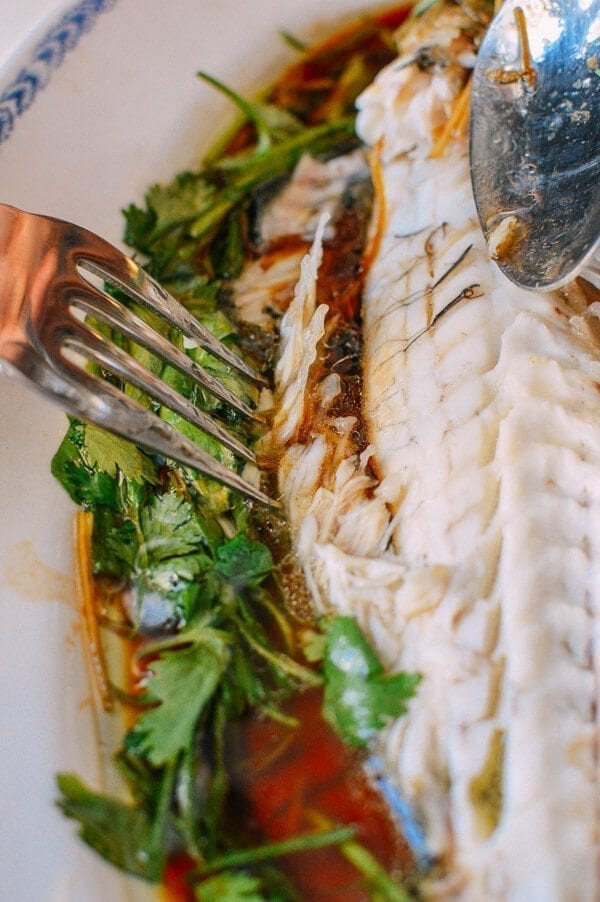 Steamed whole fish 11 the woks of life for Steamed whole fish