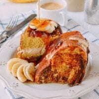 Stuffed French Toast Sunday Brunch Recipe, by thewoksoflife.com