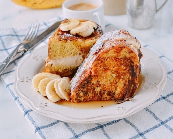Stuffed French Toast, by thewoksoflife.com