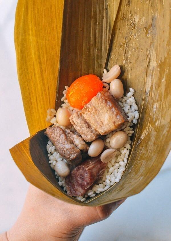 Zongzi (Cantonese Style), by thewoksoflife.com