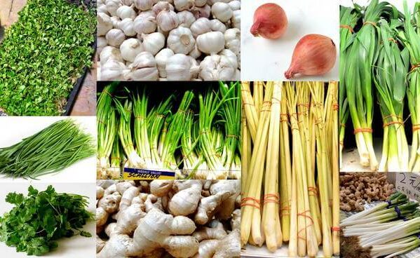 Chinese Aromatics - Asian Chives, Onions and Peppers, by thewoksoflife.com